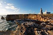 Wildlife Refuge Photo Prints - Los Morillos Lighthouse Cabo Rojo Puerto Rico Print by George Oze