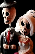 Figures Photo Originals - Los Muertos...Till Death Do Us Part. by John Aguillon