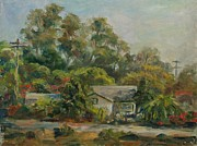 San Juan Paintings - Los Rios Afternoon by Edward White
