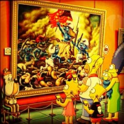 Par Photos - Los Simpsons En El Museo by Jesus Ingelmo Dosal