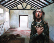 Icon Paintings - Losing My Religion by Denny Bond