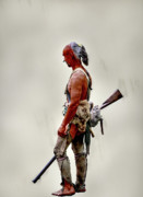 Kittanning Prints - Lost Cause Seneca Warrior Print by Randy Steele