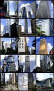 Collages Acrylic Prints - Lost in Hong Kong by Roberto Alamino