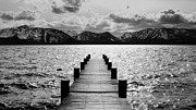 Dock Acrylic Prints - Lost in Lake Tahoe by Brad Scott