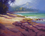 Haleiwa Paintings - Lost in Paradise II by Richard Robinson