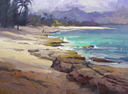 Haleiwa Paintings - Lost in Paradise by Richard Robinson