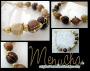 Wood Necklace Jewelry - Lost in the Woods by Menucha Citron