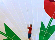 Lost Infront Of The Balloon Print by Mark Dodd