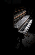 Abandoned Houses Photos - Lost Music by Emily Stauring