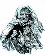 Old Lady Prints - Lost Print by Ramneek Narang