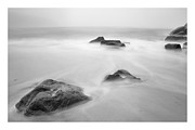 Maine Shore Prints - Lost rocks Print by Chad Tracy