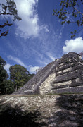 Archaeology Photos - LOST WORLD Tikal Guatemala by John  Mitchell