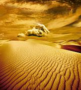 Desert Digital Art Prints - Lost Worlds Print by Photodream Art
