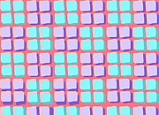 Loud Digital Art - Lots of Squares by Louisa Knight