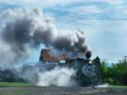Denver Photos - Lots of Steam by Ken Smith