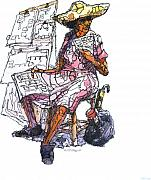 Got Drawings - Lottery Woman by William R Clegg