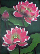 Balinese Art Crafts - Lotus 1
