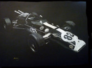 Indycar Posters - Lotus 38 No82 Poster by Richard Le Page