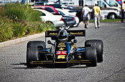 Lotus Racecar Prints - Lotus 77 Print by Andrew  Cragin