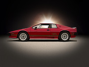 Lotus Sportscar Framed Prints - Lotus Esprit Framed Print by Douglas Pittman