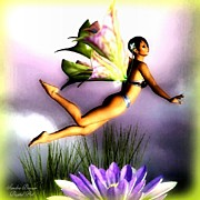 "Fantasy Art - ""lotus Fairy""