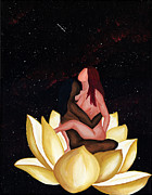 Rapture Paintings - Lotus in Rapture by Lisa Orban