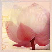 Pink Lotus Prints - Lotus of Love Print by Linde Townsend