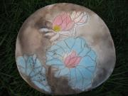 Largemouth Bass Ceramics - Lotus Platter by Julia Van Dine