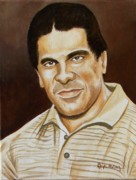 Hulk Paintings - Lou Ferrigno by Al  Molina