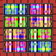Bold Digital Art Originals - Loud Digits by Gordon Dean II