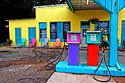 Fairhope Prints - Loud Gas Pumps Print by Michael Thomas