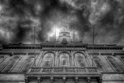 Storm Prints Metal Prints - Loughborough Town Hall Metal Print by Yhun Suarez