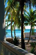Key West Art - Louies Backyard by Susanne Van Hulst