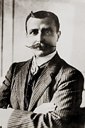 Aviation Pioneers Prints - Louis Bleriot Was The First Man To Fly Print by Everett