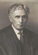 Jewish Ancestry Framed Prints - Louis Brandeis 1856-1941, Was Appointed Framed Print by Everett