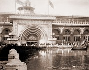 Columbian Exposition Posters - Louis Sullivan 1856-1924, Was Among Poster by Everett