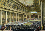 Revolution Drawings - Louis Xvi - Estates General by Granger