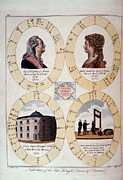 1794 Framed Prints - Louis Xvi: Horoscope Framed Print by Granger