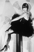 Full Skirt Metal Prints - Louise Brooks, C. 1929 Metal Print by Everett