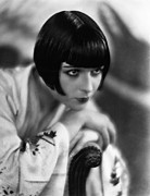 Headshot Framed Prints - Louise Brooks, Ca. 1929 Framed Print by Everett
