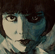 Brooks Framed Prints - Louise Brooks Framed Print by Paul Lovering