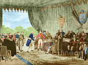 Purchase Prints - Louisiana Purchase, 1803 Print by Photo Researchers