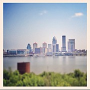 Skyline Framed Prints - Louisville, Ky. I <3! Framed Print by Amber Flowers