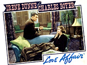 Oblivious Prints - Love Affair, Charles Boyer, Irene Print by Everett