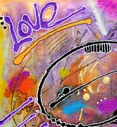 Divine Wisdom Paintings - LOVE After 50 by Angela L Walker