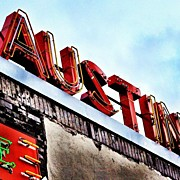Love #austin Print by Things To Do In Austin Texas