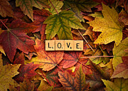 Forgive Prints - LOVE-Autumn Print by  Onyonet  Photo Studios