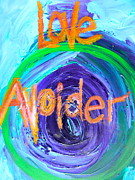 Oracle Paintings - Love Avoider by Kat Kemm