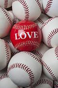 Love Baseball Print by Garry Gay