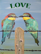 Greetings Card - Love  by Eric Kempson